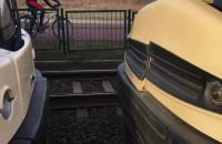 Zderzenie tramwajów na al. Havla