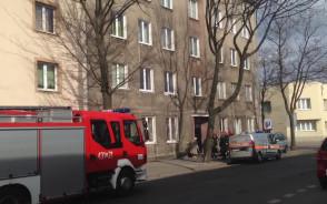Akcja strażaków przy ul. Waszyngtona w Gdyni