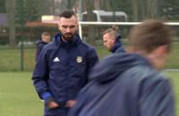 Pierwszy trening Leszka Ojrzyńskiego, nowego trenera Arki Gdynia