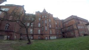 Opuszczony szpital na Dolnym Mieście