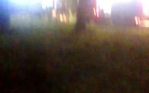 Pożar w Rusocinie