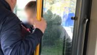Nieudolna interwencja kontrolerów Renomy wobec obcokrajowców bez biletu