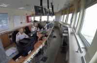 Z kamerą w kapitanacie portu Gdańsk