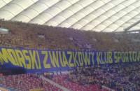 Hymn Arki Gdynia na Stadionie Narodowym w Warszawie