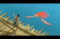 Czerwony żółw - zwiastun