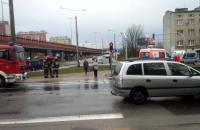 Wypadek pod Estakadą Kwiatkowskiego w Gdyni
