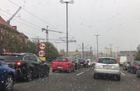 To się naprawdę dzieje. Śnieg w maju!