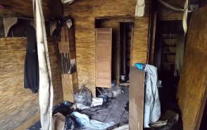 Skutki pożaru w klubie Corpus Gym