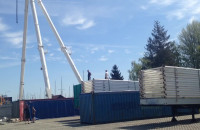 Trwa montaż koła widokowego w Gdyni