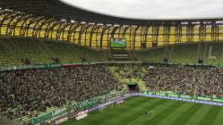 Radość kibiców Lechii po pierwszym golu