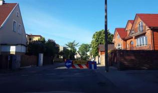 Drogowcy zamknęli Dworską