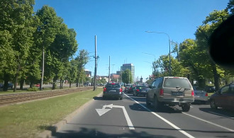 Przejazd przez centrum Gdańska poważnie utrudniony