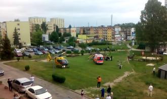 Akcja ratunkowa śmigłowca na Witominie