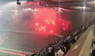 Kibice Lechii na koniec sezonu: Nie poddamy się