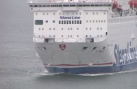Stena Vision - pierwsze wejście do portu w Gdyni
