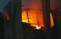 Pożar kamienicy na ul. Szczyglej na Dolnym Mieście
