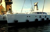 Chrzest jachtu Sunreef Che w stoczni Sunreef Yachts.