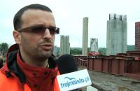 Wizyta na budowie Obwodnicy Południowej Gdańska.