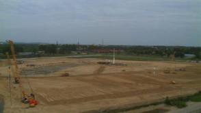 Baltic Arena - dziennik budowy (styczeń - październik)