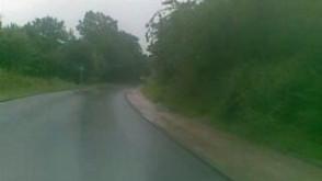 Ul. Myśliwska zalana
