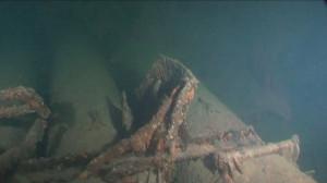 Zdjęcia podwodne z ORP Grom