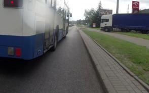 Bezmyślny kierowca autobusu