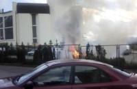 Płonący Samochód Gdynia Witomino