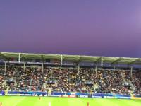 Atmosfera na meczu Hiszpania - Portugalia