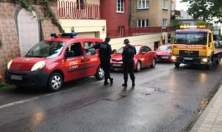 Straż miejska odholowuje auto na koszt właściciela w Gdyni