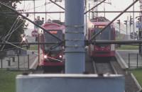 Zatłoczone tramwaje