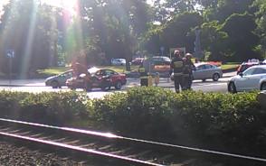Wypadek na skrzyżowaniu ul. Kartuska i Bema