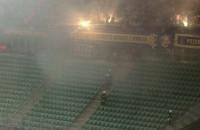 Interwencja strażaków na stadionie