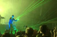 Jarre i laserowa harfa