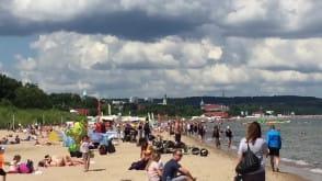 Plaża Sopot przy, na i nad wodą