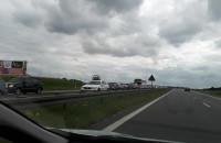 Obwodnica i A1 nadal stoi:(  Rusocin ...