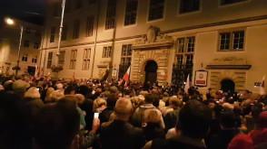 Protest Nowe Ogrody Gdańsk