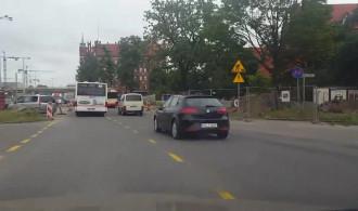 Przejazd przy Urzędzie Wojewódzkim w Gdańsku bez utrudnień