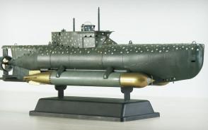 Modele niemieckich i rosyjskich okrętów Michała