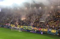 Stroboskopy na meczu Arka - FC Midtjylland