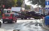 Straż miejska odholowuje auta z Szerokiej
