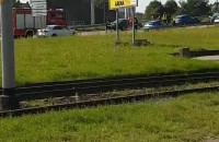 Wypadek na wiadukcie na Marynarki Polskiej