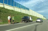 Skutki wypadku na wjeździe na WZ na ...