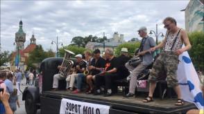 Nowoorleańska parada w Sopocie