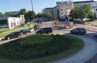 Korek na Łużyckiej i Sportowej w Gdyni