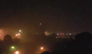 Gwałtowna burza nad Gdynią