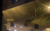 Początek ulewy w Gdyni