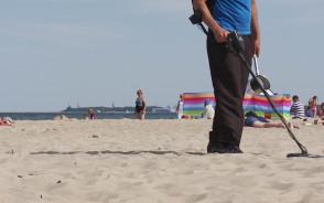 Poszukiwacz na zlecenie. Recepta na zagubione na plaży drobiazgi