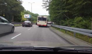 Przejazd Słowackiego po śrutowaniu