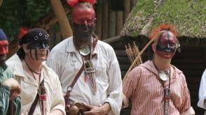 Indianie walczyli w sopockim Grodzisku