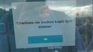 Ciekawa sytuacja w biletomacie